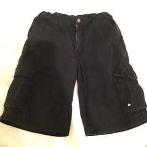 Quicksilver boys cargo shorts, size 6